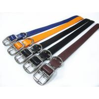 Buy cheap 38mm wide strong PVC dog collar for  Pit bull and Cane Corso big dogs from wholesalers