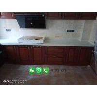 Buy cheap Foshan Weimeisi white marble stone kitchen countertop/vanity top/island top from wholesalers