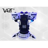 Buy cheap Color Customized Flight Simulator VR Shooting Game Machine With 0.5M Up and Down Movement from wholesalers