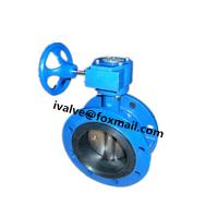 Buy cheap DN300 Cast Iron Double Flanged Butterfly Valve from wholesalers