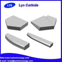 Buy cheap virgin material yg6 cemented carbide brazed tips from wholesalers