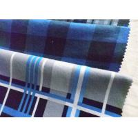 Buy cheap Twill Cotton Flannel Cloth Plaid Fabric Oil Proof Plain Dyed For Shirt from wholesalers