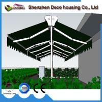 Buy cheap Garden awning aluminum double side retractable awning from wholesalers