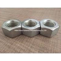 Buy cheap Grade 8.8 10.9 Steel Hex Nuts DIN 555 Zinc Plated And Hot Galvanizing Surface from wholesalers