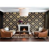 Buy cheap Waterproof PVC Vinyl Wallpaper Vintage Style For Hotel / Office , Eco Friendly from wholesalers