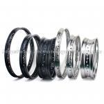 Buy cheap Aluminum Alloy Motocross Wheel Rims , 17/18/19 Inch Black Dirt Bike Rims from wholesalers