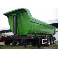 Buy cheap Coal / Grain Heavy Duty Trailer Semi BPW Hydraulic Cylinder Lifting Rear from wholesalers