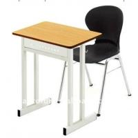 Buy cheap single school desk and chair from wholesalers