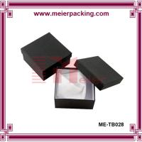 Buy cheap Black paper, art paper Material and Recyclable Feature cosmetic storage box ME-TB028 from wholesalers