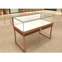 Buy cheap Multifunction Commercial Jewelry Display Cases Glass Top With Drawer Board from wholesalers