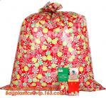 Buy cheap HDPE/LDPE plastic gift bag, fashion PE BIKE GIFT BAG FOR CHRISTMAS, christmas luxury gift bag from wholesalers
