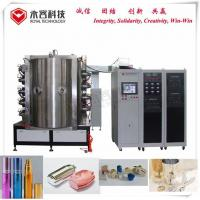 Buy cheap Glass Bottle PVD Plating Machine / Glass Bottle Decorative PVD Coating Equipment from wholesalers