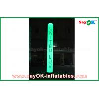 Buy cheap Outdoor Inflatable Lighting Decoration Led Long Tube Air Pillar Balloon For Wedding from wholesalers