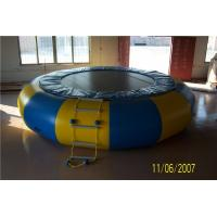 Buy cheap Non - Toxic Blow Up Water Trampoline , Outdoor Inflatable Water Toys For Adults from wholesalers