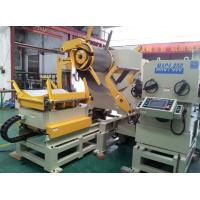 Buy cheap 3 In 1 NC Servo Decoiler Straightener Roll Feeder Manufacturers For 800mm Strip from wholesalers