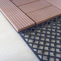 Buy cheap Polished WPC Accessories DIY Tile Keel With PP / PVC Materials 30mm*30mm from wholesalers