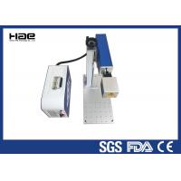 Buy cheap Mini Portable CO2 Laser Marking Machine Air Cooling For Plastic Button from wholesalers