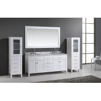 Buy cheap Solid wood modern double sink bathroom vanity, small bathroom sinks and vanities, small bathroom sinks from wholesalers