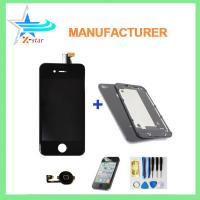 Buy cheap New Replacement Full LCD Screen Digitizer Assembly for iPhone 4 White + Tools from wholesalers