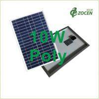Buy cheap 10W Polycrystalline Solar Panels Ethylene Vinyl Acetate 366 * 306 * 17 mm from wholesalers