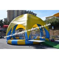 Buy cheap Inflatable Swimming Water Pool with 6 legs mobileTent cover and protective net from wholesalers