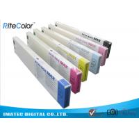 Buy cheap Odorless Wide Format Inks , 440ML Eco Sol Max Ink Cartridges With Chips from wholesalers