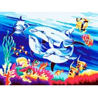 Buy cheap Undersea world Oil Painting from wholesalers