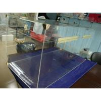 Buy cheap 6mm Acrylic Storage Boxes Clear Plexiglass Truck With Golden Hardwares product