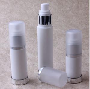 Buy cheap 15ml,30ml,50ml Milk White PP Lotion Bottle Plastic Airless Bottles for Emulsion product