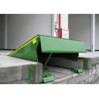 Buy cheap Green Standard Type Hydraulic Dock Leveler , Loading Dock Levelers from wholesalers