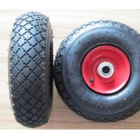 Buy cheap Steel Rim Rubber Wheel (PR1805-1 10*3.00-4) TYRE TUBE TIRE from wholesalers