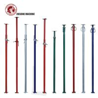 Buy cheap Q345 Painted Scaffolding Adjustable Jack Post Shoring Prop for Construction from wholesalers
