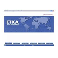 Buy cheap ETKA Electronic Catalogue V7.5 Automotive Scan Tool Software For Audi VW Seat Skoda from wholesalers