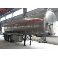 Buy cheap SINOTRUK HOWO Semi Tractor Trailer , Fuel Oil Delivery Truck With Semi Trailer from wholesalers