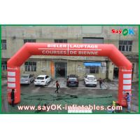 Buy cheap 3D Inflatable Finish Arch Event LED Lighting Inflatable Entrance Arch For Promotion from wholesalers