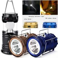 Buy cheap Solar Portable Lamp_rechargeable led lantern_LED camping light from wholesalers