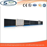 Buy cheap Curtain Wall Double Glazing Equipment , Insulated Glass Machine With Touch Screen Operation from wholesalers