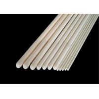 Buy cheap High Purity Alumina Ceramic Thermocouple Protection Tube With One End Closed from wholesalers