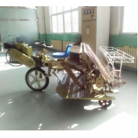 Buy cheap 8.1mu/H Rice Seeding Machine , 2 Arms 6 Rows Mechanical Rice Transplanter from wholesalers