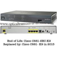 Buy cheap 4 LAN Ports Wired Cisco 800 Series Router CE Certification CISCO881/K9 from wholesalers
