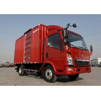 Buy cheap Left Hand Driving 5T Commercial Box Truck84HP Diesel Engine LHD Steering from wholesalers