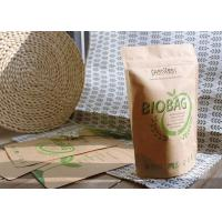 Buy cheap Customized Bio Compostable Bags , Biodegradable Food Bags PLA Zipper For Tea / Snacks from wholesalers