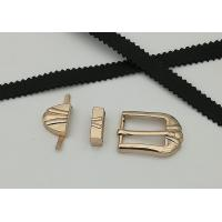 Buy cheap Silver Bronze Gold Shoe Buckles Environmental Protective For Men Women from wholesalers