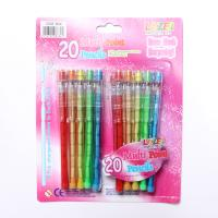 Buy cheap 9 leads Standard Non-Sharpening Pencil for kids  Custom Printed Bullet Pencil Push Point Pencil product
