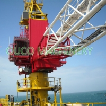 Buy cheap Steel 80t Lattice Boom Offshore Pedestal Crane from wholesalers