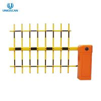 Buy cheap Brushless DC Motor 3 Fence Arm Parking Barrier Gate With Wireless Remote Control from wholesalers