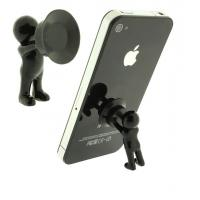 Buy cheap 3D man stand with silicone sucker for mobile phone product