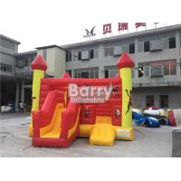 Buy cheap Commercial Inflatable Bouncy Slide , Blow Up Combo Jumping Castle For Kids Play from wholesalers