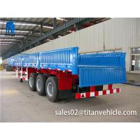 Buy cheap TITAN VEHICLE  Fence semi-trailer 12r 22.5  trucks for sale philippines from wholesalers