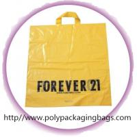 Buy cheap CPE / LDPE / HDPE Soft Loop Handle Bag , Custom Plastic Shopping Bags from wholesalers